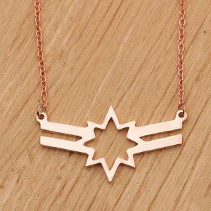Captain Marvel Necklace